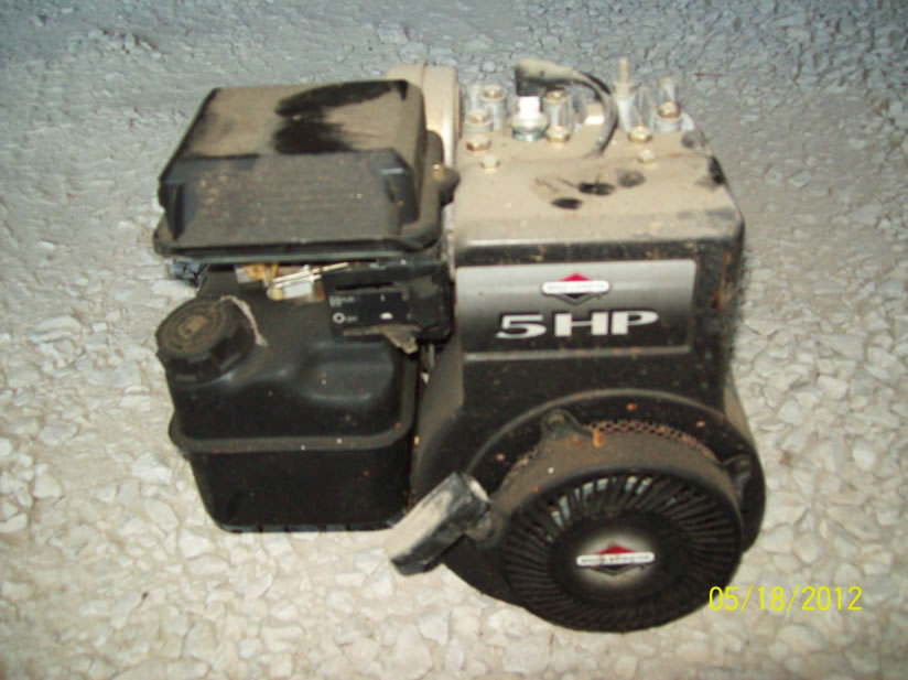 Grm surplus auction for Briggs and stratton 5hp motor