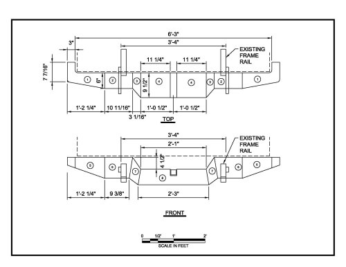 ford winch bumper plans
